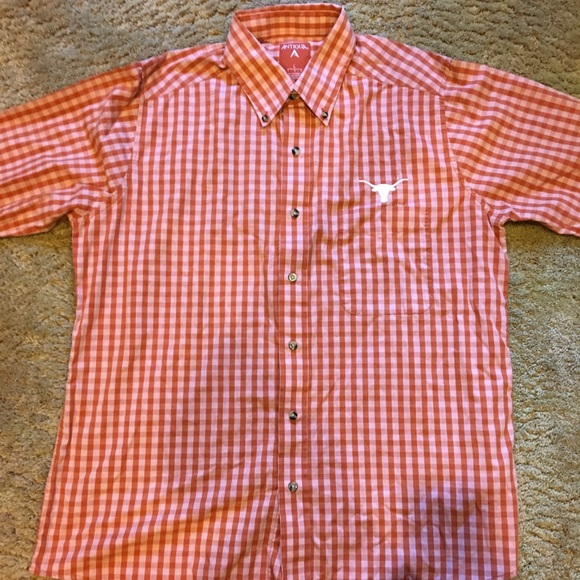 Antigua Other - University of Texas Button-Up Size Large